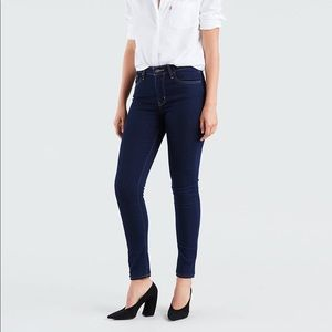 Levis 721 High Rise Skinny in Cast Shadows